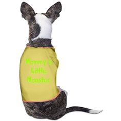 Mommy's Little Monster Comfortable Pet Dog Shirts Polyester Puppy Vest Dog Clothes *** More info could be found at the image url. (This is an affiliate link) #DogApparelAccessories