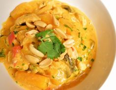 Thai Chicken Curry with Butternut Squash