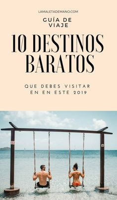Guía de viaje: 10 destinos baratos para visitar en el 2019 Places To Travel, Places To Visit, Eurotrip, Far Away, The Good Place, Travel Photography, Beautiful Places, Photoshop, Camping