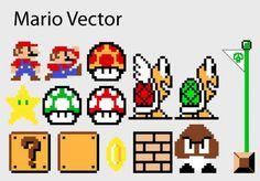 free Mario vectors