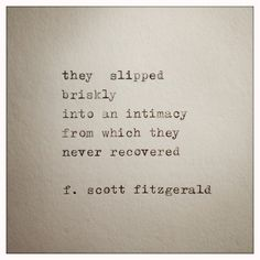 Beautiful command of language, and as an undergraduate! F. Scott Fitzgerald makes me  reevaluate my life.