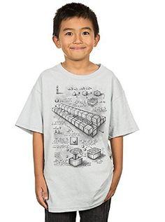 Minecraft T-camiseta de manga corta (Youth) Minecraft iposters #camiseta #realidadaumentada #ideas #regalo