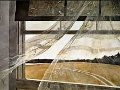 Andrew Wyeth - One of my favorite Andrew Wyeth paintings.