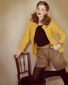 "1,070 Likes, 29 Comments - Lily Jarlsson (@lilyjarlsson) on Instagram: ""#vintagestyle #1940s #1950s #truevintageootd"""