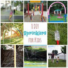 8 DIY Sprinklers For Kids