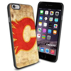 NHL HOCKEY Calgary Flames Logo, Cool iPhone 6 Smartphone Case Cover Collector iphone TPU Rubber Case Black Phoneaholic http://www.amazon.com/dp/B00UXS3P3S/ref=cm_sw_r_pi_dp_tdhnvb1AHXQPR