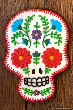 Mexican skull by Rocío Cuenca