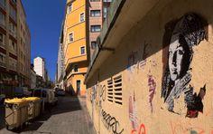 El arte urbano es animado a través de GIFs