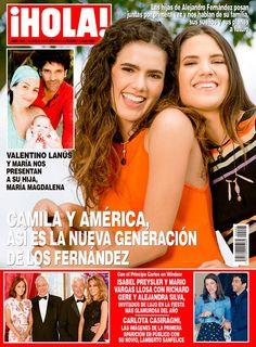 Camila y América, hijas de Alejandro Fernández, posan juntas por primera ocasión y hablan de su familia, sueños y planes a futuro esta semana en ¡HOLA!.