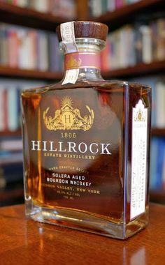 The Hillrock Estate Solera Aged Bourbon Whiskey