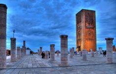 Hassantoren, Marokko