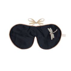 Discover the Holistic Silk Lavender Eye Mask - Black at Amara