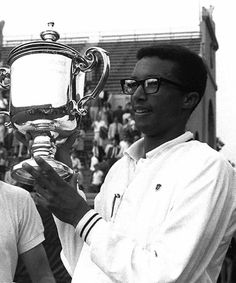 Arthur Ashe inspired me in the summer of 1973. Forever mindful and thankful for his words.
