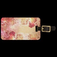 Travel in style with Floral luggage tags from Zazzle! Make your tags today! Luggage Backpack, Custom Luggage Tags, Standard Business Card Size, Leather Luggage, Floral Fashion, Printing Process, Prints, Cards, Personalised Luggage Tags