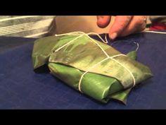 PASTELES DE PUERTO RICO  Aquí nos muestran cómo hacer y preparar los pasteles artesanalmente desde el campo de Adjuntas.