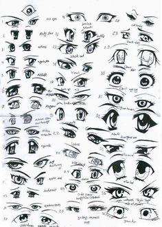 anime girl eye - Google Search