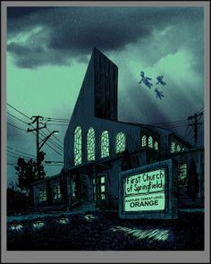 Top 8 des images du côté obscur de Springfield, les Simpson version Tim Doyle
