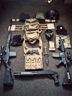 My favorites : pictures, gears, camouflages, loadouts, links and so on. all for Airsoft. Tactical Survival, Tactical Gear, Zombie Survival Gear, Zombie Apocalypse Gear, Airsoft Gear, Tac Gear, Combat Gear, Tactical Equipment, Military Gear