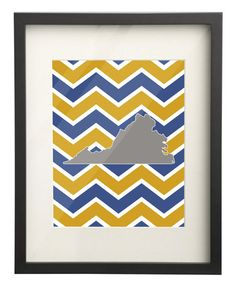 Emory & Henry College Virginia State Map by PaperFrecklesCampus, $15.00 Use: PIN10 for 10% OFF!
