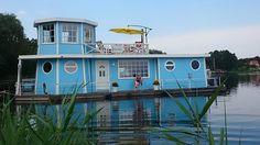 Hausboot-Wohnschiff