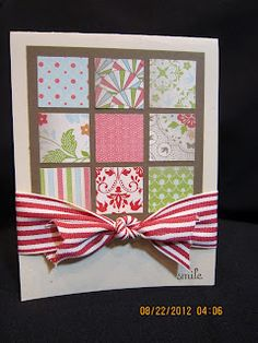 Stampin' Up! Cards on Paper, Glue, Bling & More