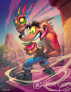 Crash bandicoot by el-grimlock.deviantart.com on @DeviantArt