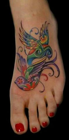 Birds of a feather flock together I love this tattoo!!