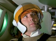"""""""Ordeal""""  Foster prepares for takeoff in Sky One."""