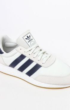 5f597bf973a99 adidas I-5923 White and Navy Shoes