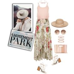 Untitled #788 by m-jelic on Polyvore featuring River Island, Rebecca Minkoff, LC Lauren Conrad, Accessorize, Ted Baker, Collection XIIX, Chloé, amusementpark and 60secondstyle
