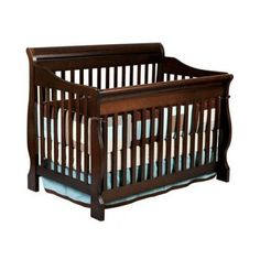 Baby Crib Nursery Furniture Delta Canton Convertible 4-in-1 Cribs Espresso-Brown #Delta