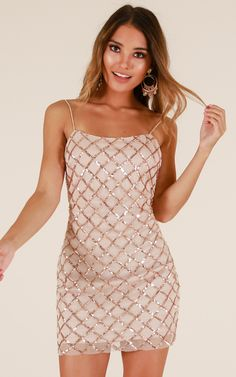 Homecoming dresses tight - Rhythm Of Love Dress In Rose Gold Sequin Produced – Homecoming dresses tight Homecoming Dresses Tight, Vegas Dresses, Tight Dresses, Casual Dresses For Women, Rose Gold Homecoming Dress, Elegant Dresses, Sexy Dresses, Summer Dresses, Formal Dresses