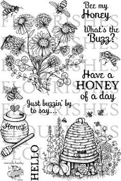 Bee My Honey Stamp Set