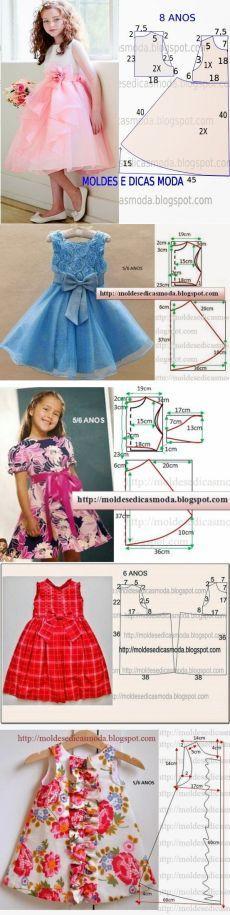 Шьем платья для девочек (5 фото) | WmnDay.ru - Handmade, фитнес, интерьеры