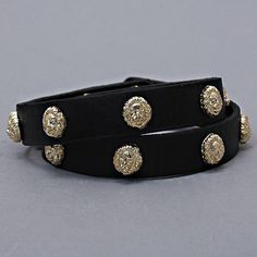 Vintage Designer Inspired Gold Black Lion by ALLABOUTMYJEWELRY