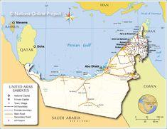 kort over abu dhabi