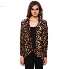 >> Click to Buy << 2014 new winter women leopard jacket brand coat for female  cardigans chaquetas mujer SV20 #Affiliate