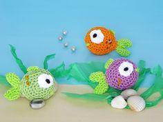 I pesciolini amigurumi si prestano benissimo come bomboniere per il battesimo o per qualsiasi evento o cerimonia a tema marino.