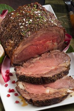 Easy Prime Rib Roast Recipe -Melt In Your Mouth Goodness Easy Prime Rib Roast Recipe, Roast Recipes, Perfect Food, Main Dishes, Stuffed Peppers, Cooking, Savory Foods, Hamburger Recipes, Easter Dinner