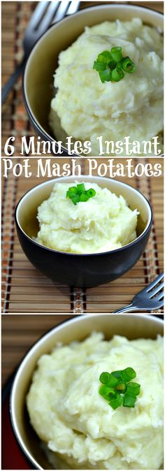If you are not using your pressure cooker to make your mashed potatoes, you better rethink that and make this 6 Minutes Instant Pot Mashed Potatoes Recipe. Get the recipe at CleverlyMe.com