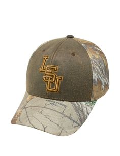 Louisiana State University Tigers Realtree® Camo Cap | Stage Stores
