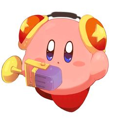 Mic Kirby. So cute!