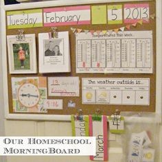 The Complete Guide to Imperfect Homemaking - Home School Morning Board