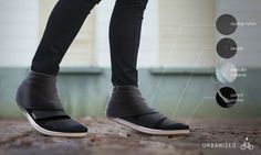 Stylish Rainproof Footwear - Urbanized Cycling Shoe by Jillian Tackaberry Keeps Feet Dry (GALLERY)