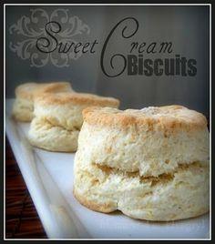 Sweet Cream Biscuts