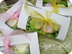 I know the pic has an Easter theme, but the sugar cookie recipe is what I'll be using for Christmas cookies!  =)