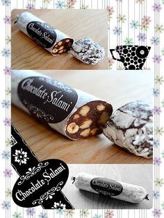 Yasmin Limbert chocolate salami