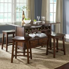 Liberty Furniture Cabin Fever Dining Table | Wayfair I LOVE THIS!