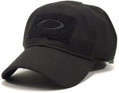 Oakley Men's SI Standard Issue Special Forces Tactical Fitted Hat Cap - Black (L/XL)
