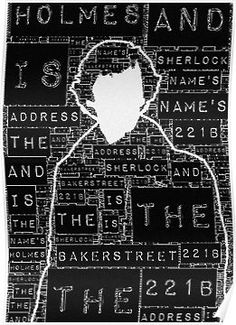 Sherlock BBC: Type by favoritedarknes<<<<<<< PLEASE SOMEBODY, ANYBODY GET ME THIS I DONT EVEN CARE IF YOU KNOW ME OR NOT JUST PLEEASSE I NEEED THIS POSTER